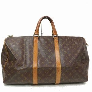 Auth Louis Vuitton Keepall 50 Bag #1022L20